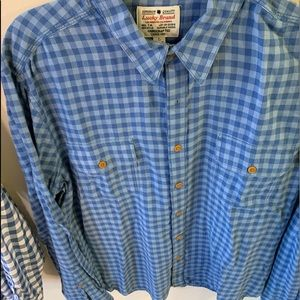 Lucky Brand Men's button up/ Flannel